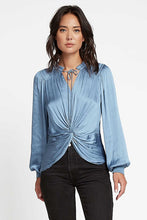 Load image into Gallery viewer, Current Air Twist Front Long Sleeve Blouse