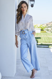 Bishop + Young Boheme Culotte Denim Pant
