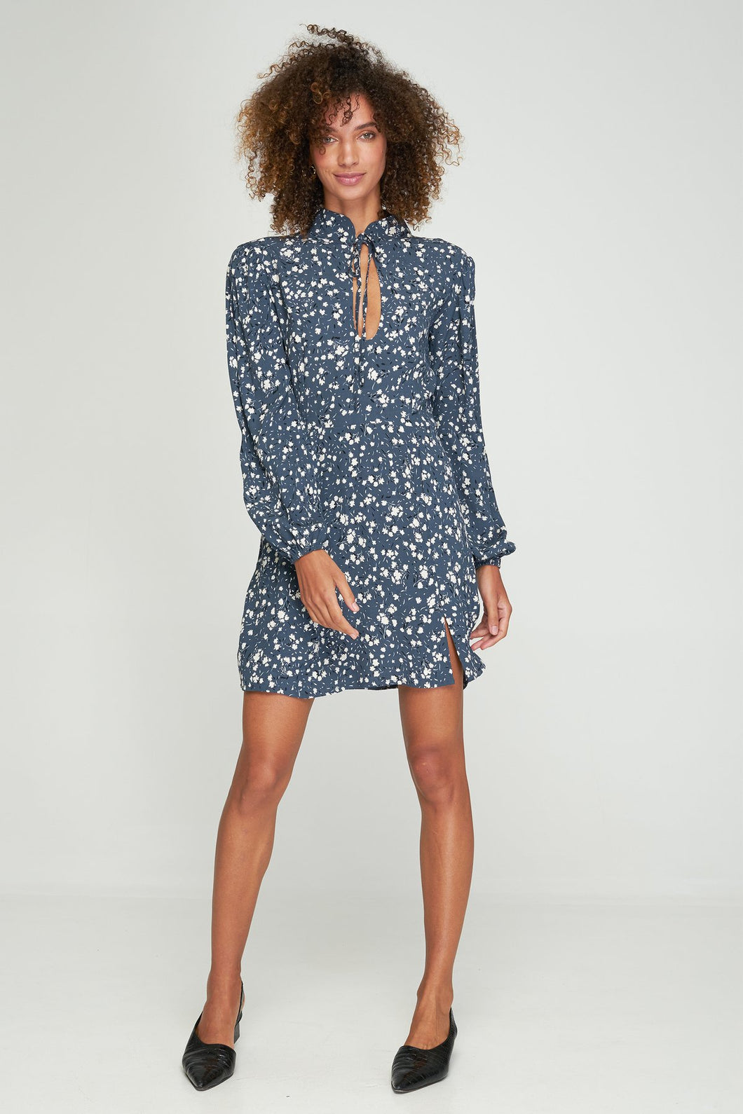 THEA MINI DRESS - MARIANNE FLORAL