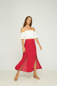 RUE STIIC PALMAS OFF THE SHOULDER TOP