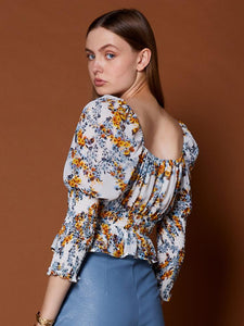 Tulipa Square Neck Top