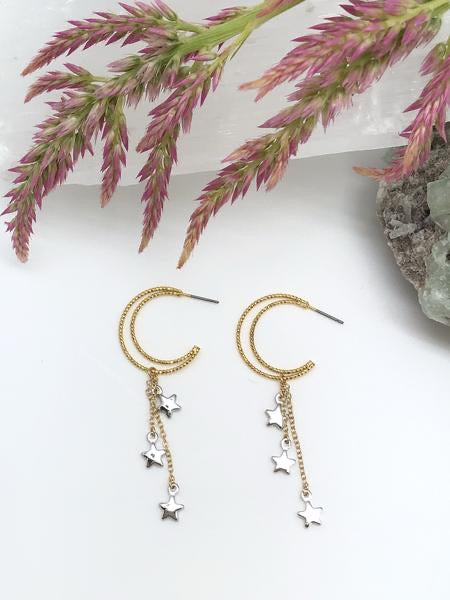 Crescent Clairvoyance Earrings
