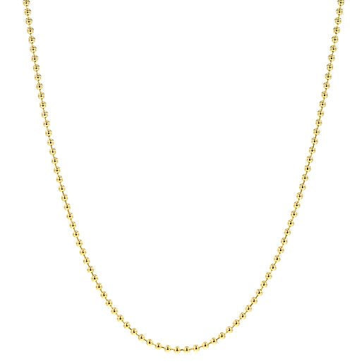 PARADIGM BEAD CHOKER GOLD FILLED