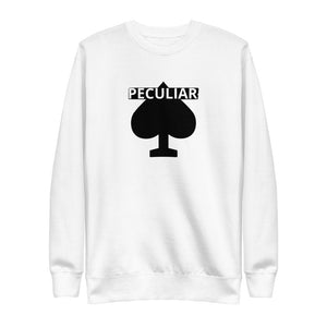 ON:GOD C:C White Unisex Fleece Pullover