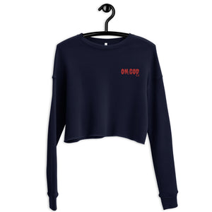 ON:GOD Clssic Clothing Ladies Crop Sweat shirt