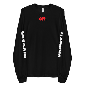 ON:GOD C:C Black Long sleeve t-shirt