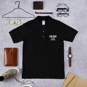ON:GOD C:C Embroidered Polo Shirt