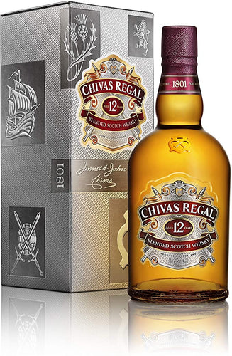 Chivas Regal 12 yo 750ml - Togetherstore Zambia