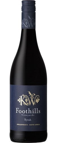 FOOTHILLS VINEYARDS Syrah 750ml - Togetherstore Zambia