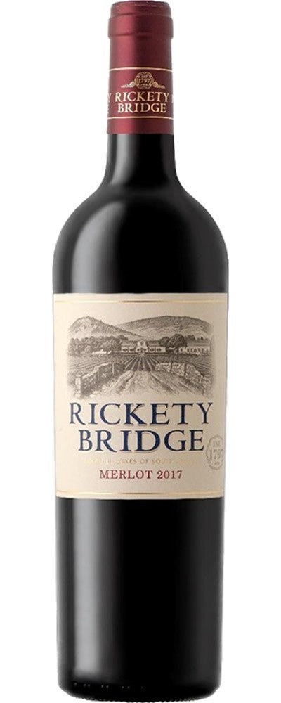 RICKETY BRIDGE Merlot 750ml - Together Store Zambia