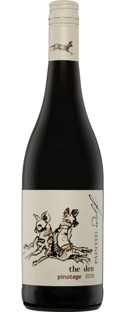 PAINTED WOLF WINES The Den Pinotage 750ml - Togetherstore Zambia