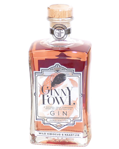 GINNY FOWL Wild Hibiscus & Naartjie Gin 750ml - Togetherstore Zambia