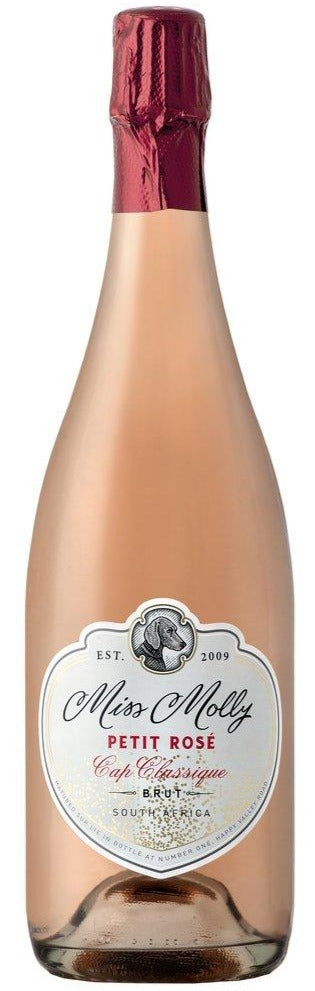 MORESON Miss Molly Petit Rose Brut Bubbly 750ml - Togetherstore Zambia