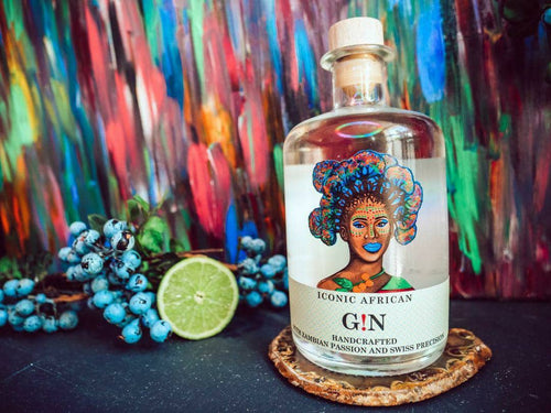 ICONIC African Gin 500ml - Togetherstore Zambia