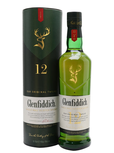 Glenfiddich 12yo 750ml - Together Store Zambia