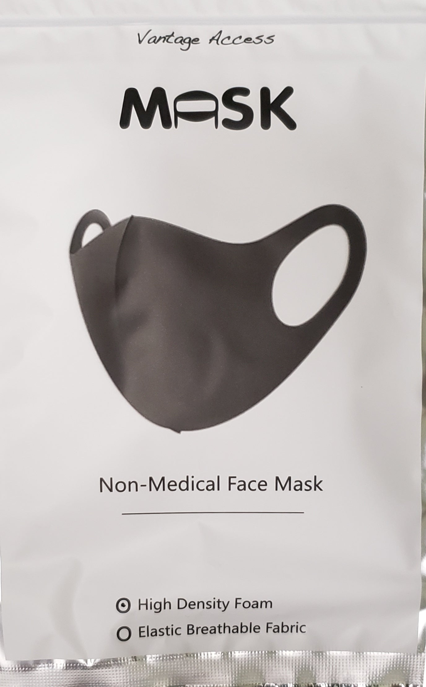 High Density Foam Mask