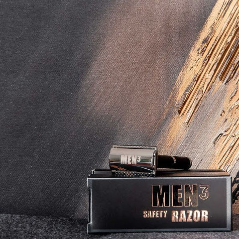 MEN³ SAFETY RAZOR.