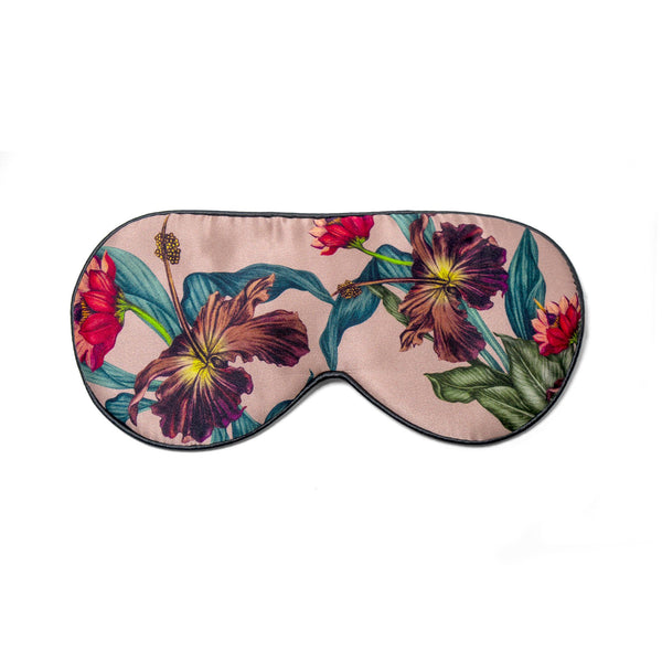 SLEEPING EYE MASK VINTAGE FLOWER