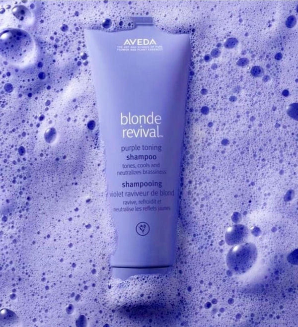 AVEDA BLONDE REVIVAL PURPLE TONING SHAMPOO