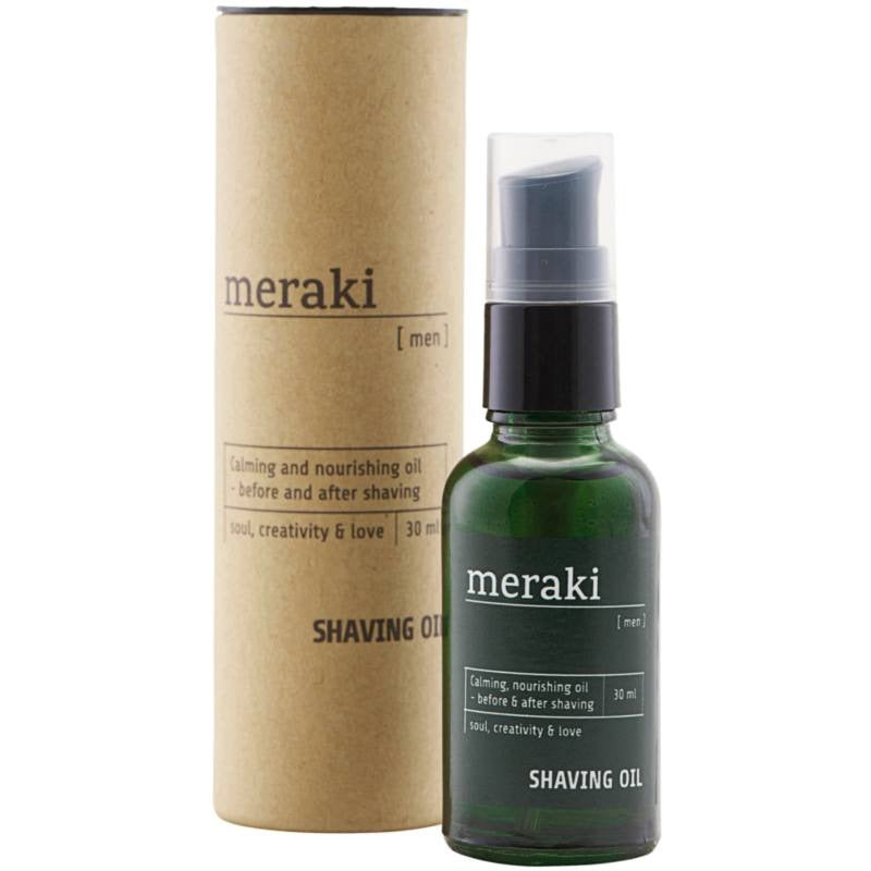 Meraki Men Calming, Nourishing Shaving Oil