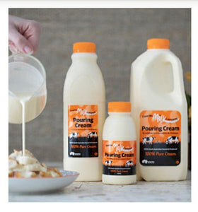Cream Pouring - Fleurieu Milk Company