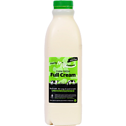 Milk - Farm Fresh Unhomogenised - Fleurieu Milk Company