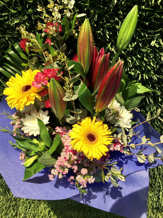 Flowers - Seasonal Gift Wrapped Bunch