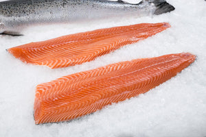 Salmon Fillets Pinboned