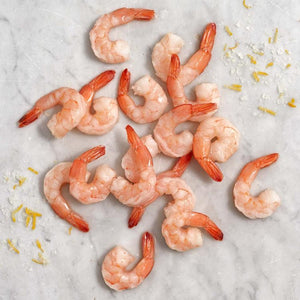 Peeled and Deveined Prawns cooked