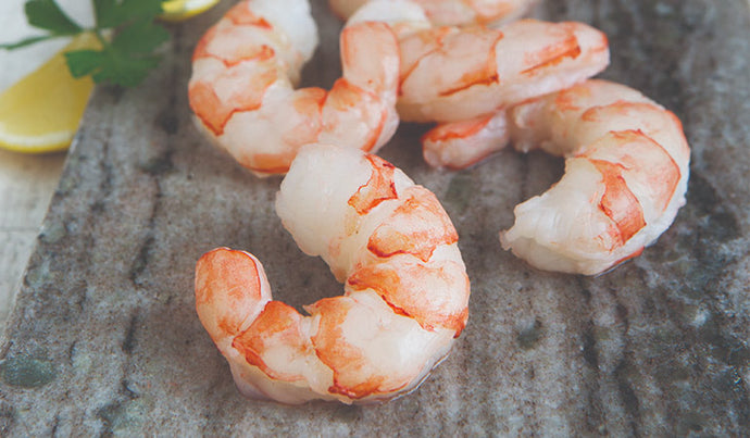 Peeled and Deveined Wild Prawns