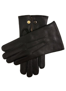 Men's Wool Lined Leather Officers Gloves