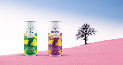 Delvi Sparkling Alcoholic Seltzer released
