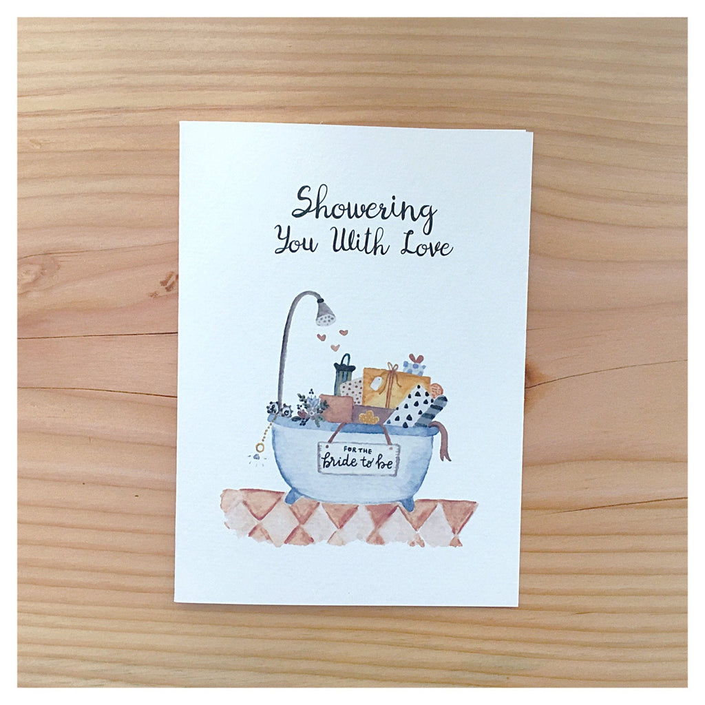 Card, Showering you with Love