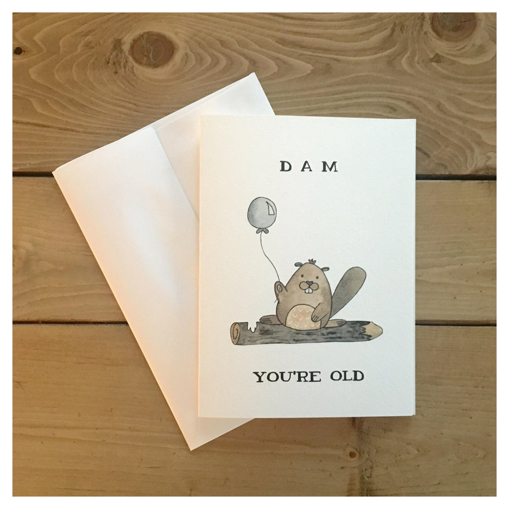 Card, Dam you're Old