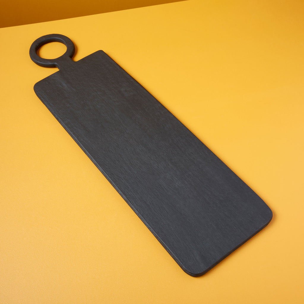 Long Mango Wood Charcuterie Serving Board