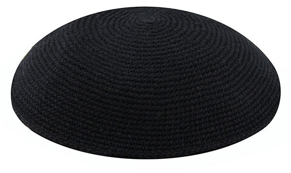 Knit Kippah, Black