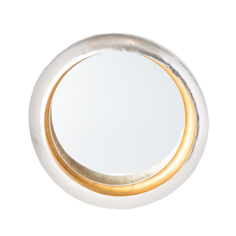 Mirror, Large Circular Wall Mirror.  22.4''