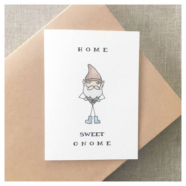 Card, Home Sweet Gnome