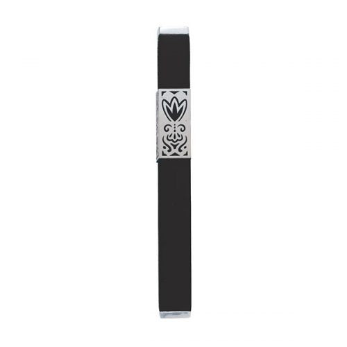 Mezuzah Metal Cut Out, Black