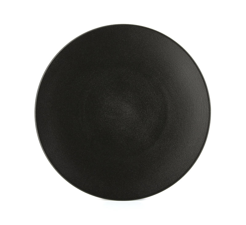 Dinnerware, Equinox Porcelain Dinner Plate Cast Iron.  10.25''