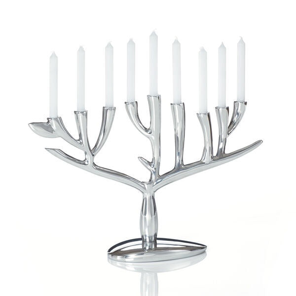 Nambe', Tree of Life Menorah
