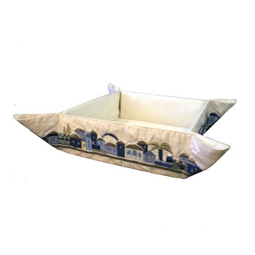 Matzah Folding tray-Jerusalem blue