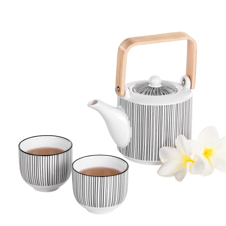 3pc Tea Pot Set