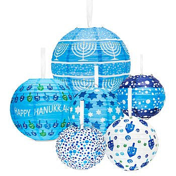 Chanukah Lantern ball decorations