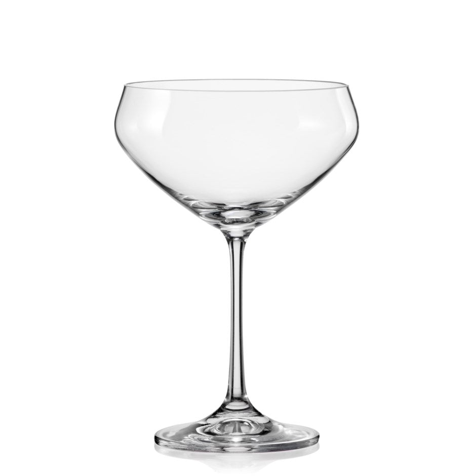 Bar, Cocktail Coupe, Crystal set of 4, 340ml 12oz