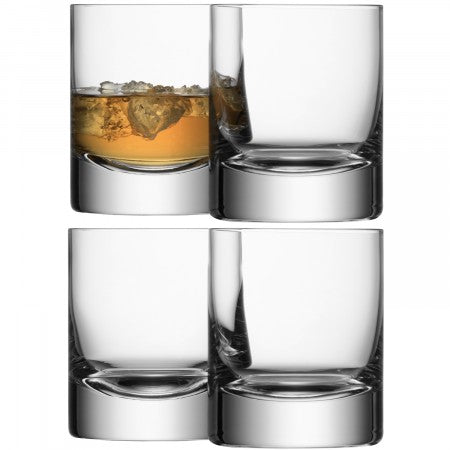 Whisky, Crystal Tumbler set of 4