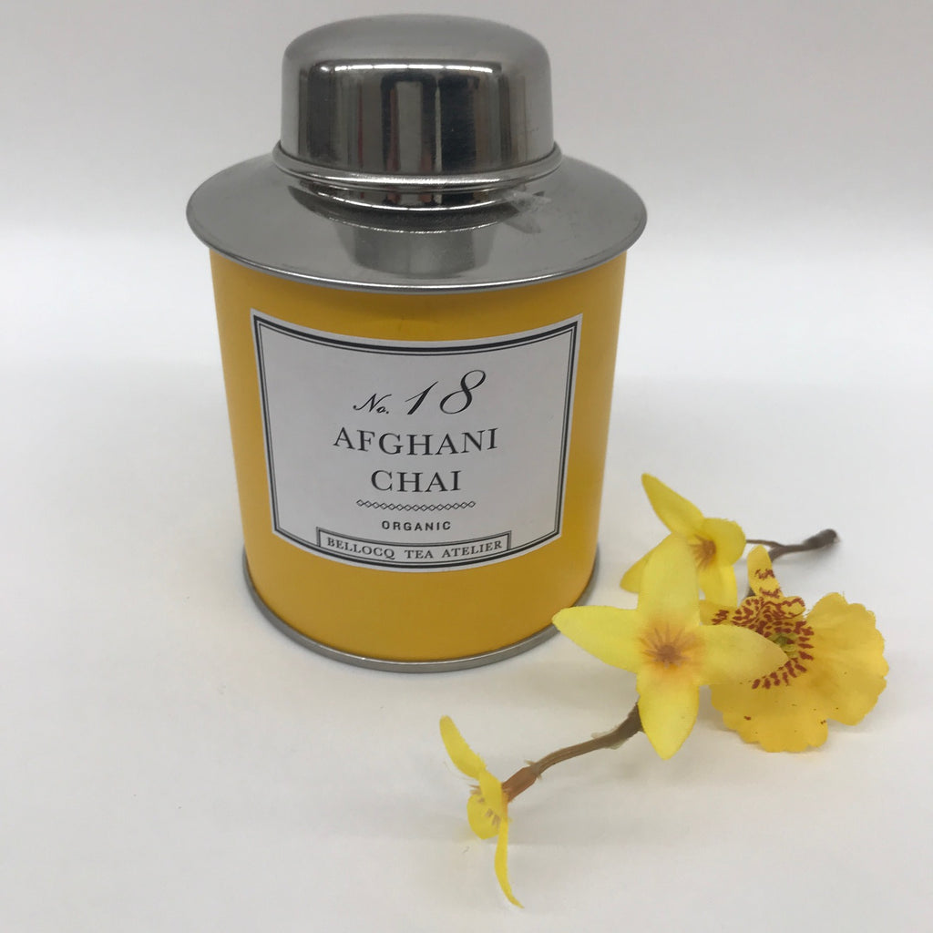 Bellocq Tea, No 18 Afghani Chai Yellow  TC