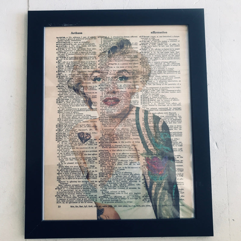 Wall Art, Marilyn Free To Be