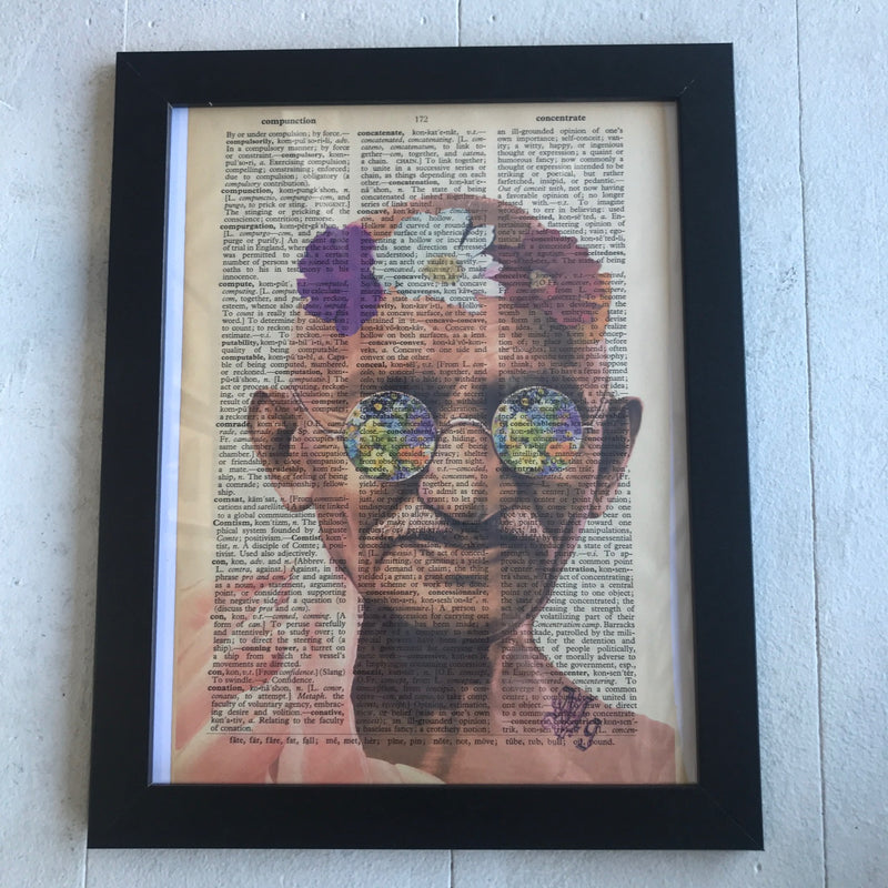 Wall Art, Gandhi Flower
