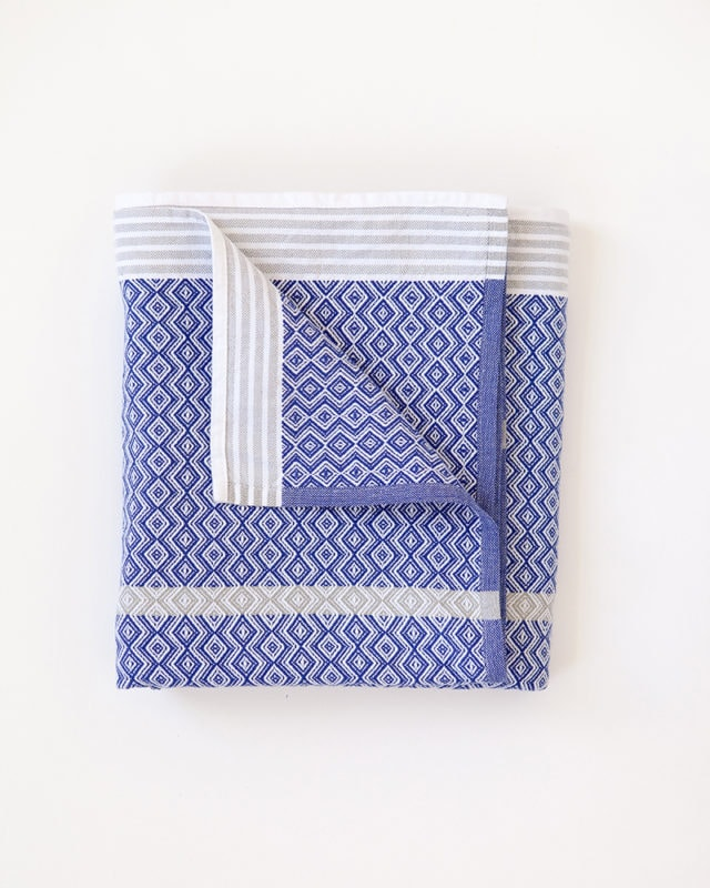 Mungo Itawuli Bath Sheet,  Blue Moon